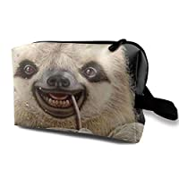 Slothdrinking Cosmetic Bag Makeup Bags For Women,Travel Makeup Bags Roomy Toiletry Bag Accessories Organizer With Zipper