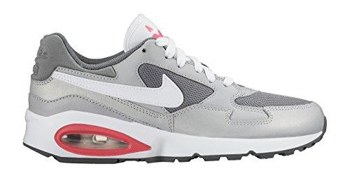 Nike Mädchen Air Max ST (GS) Laufschuhe, Grau, Weiß, Rosa, Pink, 36 EU