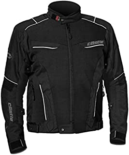Castle Max Air Mens Motorycle Jacket - Black - XL