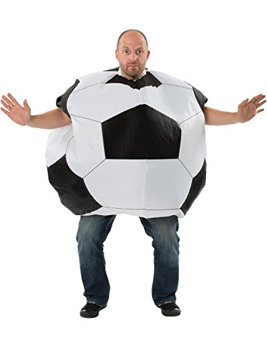 Adult Mens Inflatable Giant Football Costume