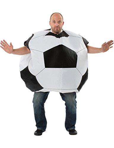 ORION COSTUMES Pelota de Ftbol Gigante Inflable Despedida de Solteros para Hombres