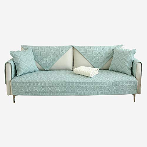 Hybad Loveseat Sofa-overtrek, hoekbank, omkeerbare bankovertrekken van stof, sofakussen, sofa-bescherming, rugdoek, sofastoelovertrek, slaapkamermat
