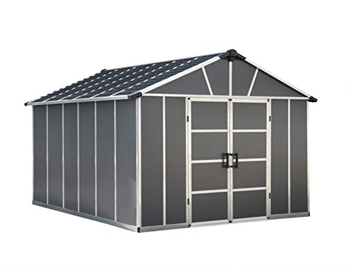 Palram Yukon 11X13.1 Ohne Fußboden Tool shed, Grey