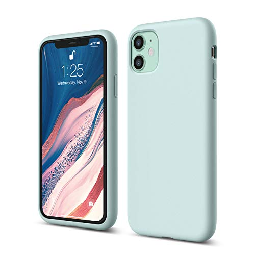 "elago Coque iPhone 11 Silicone Compatible avec Apple iPhone 11 (6.1"")-Protection"