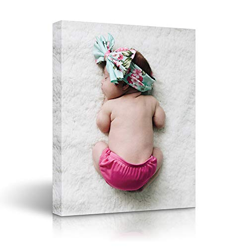 Personalized Canvas Wall Art, Custom Prints with Your Photos on Canvas 8x10 inches