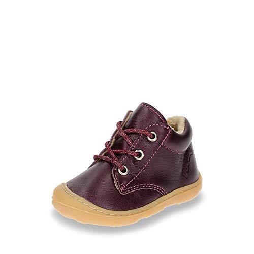 RICOSTA Baby Mädchen Corby Sneaker, Rot (Merlot 386), 23 EU