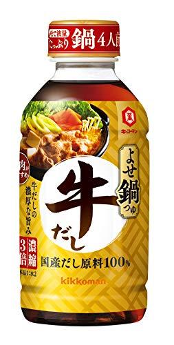 キッコーマン食品『よせ鍋つゆ 牛だし』