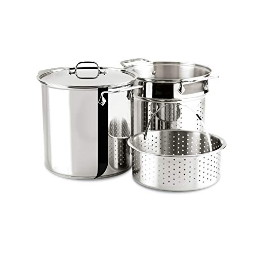 12 qt stock pot with pasta insert - 5