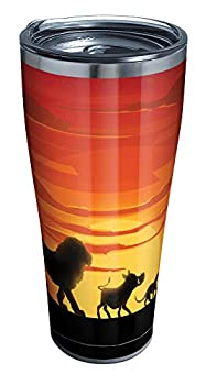 Tervis Disney - Lion King Silhouette Stainless Steel Insulated Tumbler with Lid 30 oz Silver