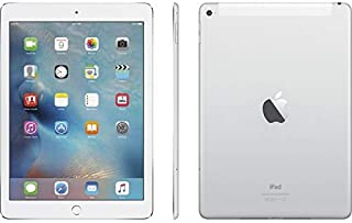Apple iPad Air 2 MH2N2LL/A (64GB, Wi-Fi + 4G, Silver) (Renewed)