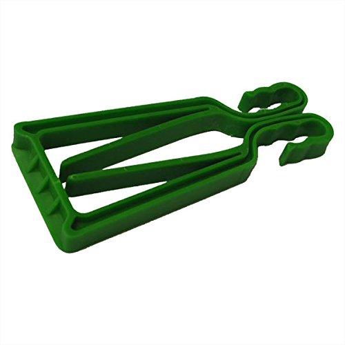 Porte-skis et bâtons KlipSki en vert (la paire) – rapide et simple d'emploi, pour les experts comme pour les bambins