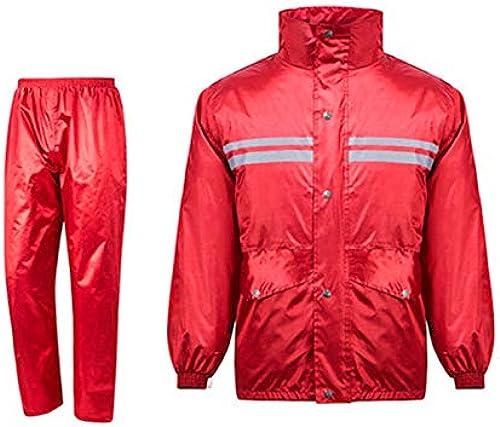 WSWJJXB Imperméable imperméable Pantalon de Costume Costume Split Split Adulte imperméable