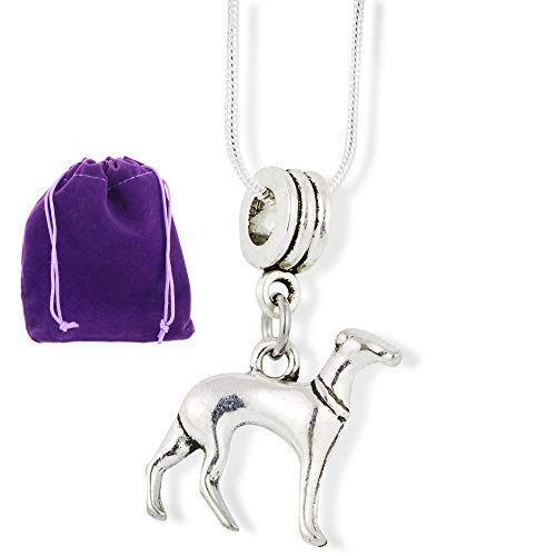 Greyhound Gifts | Animal Necklace or Pet Necklace and Dog Necklace for Girls a Dog Mom Necklace of an Italian Greyhound This is Real Animal Lover Jewelry or Dog Mom Necklace for Women and Men