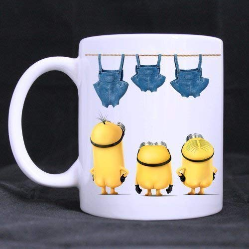 Minions 2015 Taza blanca personalizada Taza de café de Mug for U 11oz