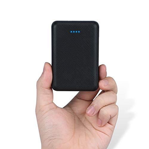 POSUGEAR Bateria Externa 10000mAh, Powerbank con 2 Salidas (2.1A+1A) Compatibles con Todos Los Teléfonos y Tabletas