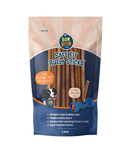 "Bow Wow Labs 6"" Bully Sticks - 10 Pack (Midsize)"