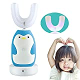 FEISIKE U-Shaped 360°Automatic Electric Toothbrush for Kids,Autobrush for Kid,2 Braces of...