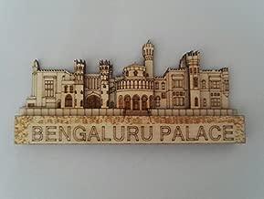 White Artisans Bengaluru Palace Wood Carved Magnet