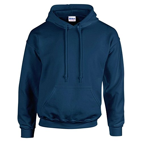 "Gildan GD057 Kapuzen-Sweatshirt \""Heavy Blend\"" Gr. M, navy"