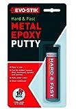 Evo-Stik 320123 50 g y rápida rígida de Metal Revestido de Epoxy Putty
