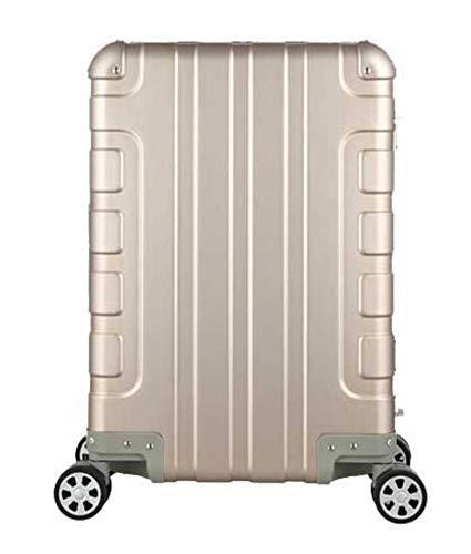 N-B Maleta de mano 100% aluminio maleta traje de 20 pulgadas