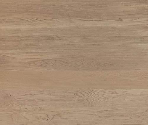 HORI® Klick Parkett 300 Dielenboden Parkettboden Eiche Family grau gebürstet Landhausdiele 1-Stab mit Fase Natur-geölt I Eiche I 7 Dielen im Paket = 0,99 m²