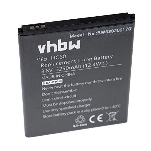 vhbw Akku passend für Motorola Moto C Plus, C Plus Dual SIM, XT1723, XT1724, XT1725 Handy Smartphone Handy (3250mAh, 3.8V, Li-Polymer)