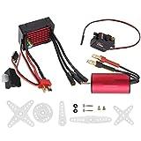 zhuolong Surpass ‑ Hobby 2040 3900KV Motor 35A ESC S0017M 17G Juego sin escobillas de servo metálico para Coche RC