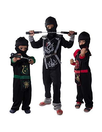 PARTY FIESTA Disfraz Soldado Ninja Infantil Surtido (10-12)