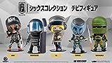 Ubisoft (ユービーアイソフト) 6コレクション チビフィギュア シリーズ1 5体セット (SMOKE/TACHANKA/MONTAGNE/ASH/IQ)