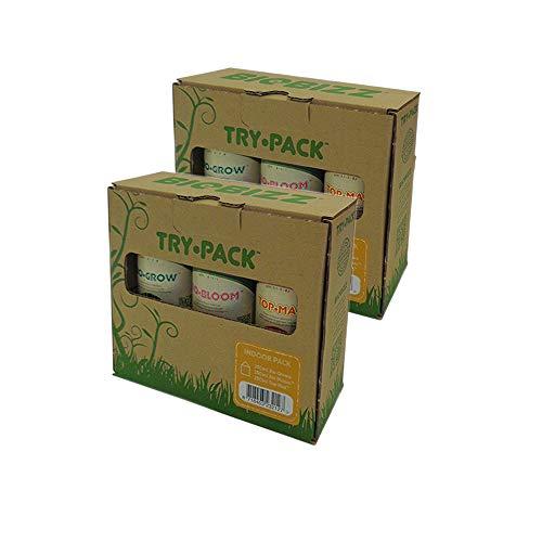 BioBizz - Pack de 3 paquetes de 500 ml (6 botellas de 250 ml).