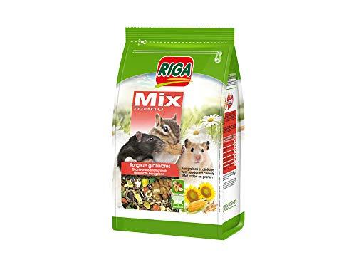 Riga Mix Körnerfressende Nagern, 5er Pack (5 x 800 g)