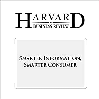 Smarter Information, Smarter Consumer (Harvard Business Review) cover art