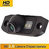 Rückfahrkamera HD1280 x 720p Rückfahrkamera für Nummernschild, Ersatzkamera, Nachtsicht, IP69k, wasserdicht, für Volvo S60 S80 SL40 SL80 XC70 XC60 XC90 S40 C70 V70 V50