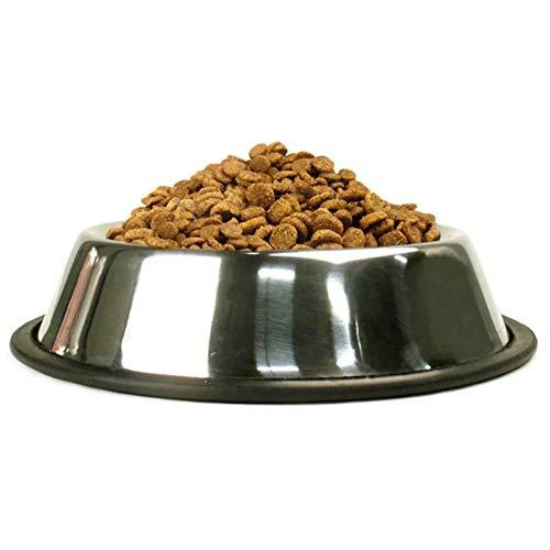 PINXIU Recipiente Antideslizante de Acero Inoxidable para Alimentos para Mascotas Anticaída y Anti mordedura Recipiente para Perros y Gatos Recipiente anticaída