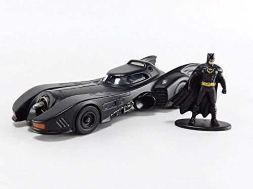 Jada Toys DC Comics 1:32 1989 Batmobile Die-cast Car with Batman Figure, Toys for Kids and Adults (JadaToys31704)