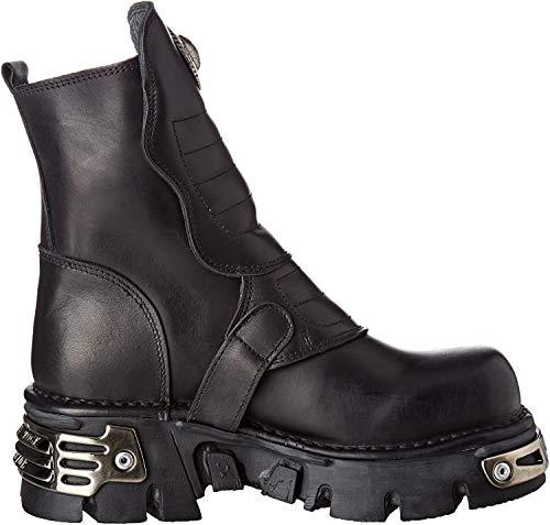 New Rock M-1482X-S1 - Botas de Otra Piel Unisex Adultos, Negro (Negro (Black 001)), 40 EU