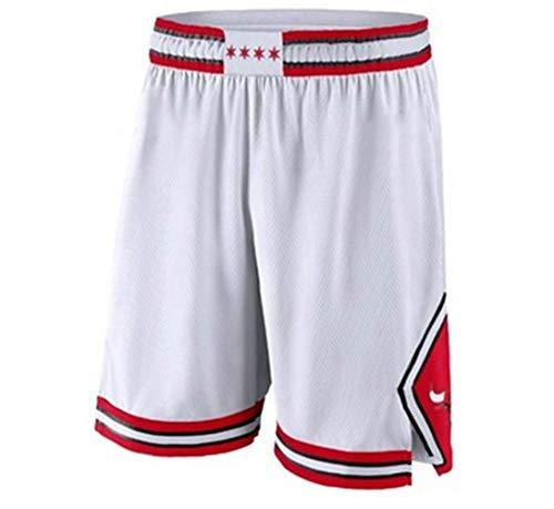 QIXUN Uniforme de Baloncesto, Bulls, 23rd Michael Jordan, versión para Jugador, Camiseta Vintage para Hombres y Mujeres