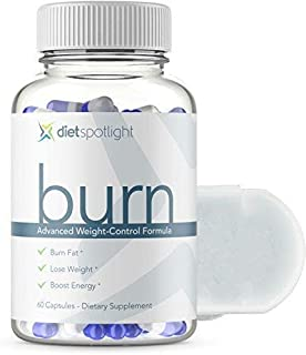 Burn TS® Advanced Weight Loss Formula - Metabolism & Energy Booster, Appetite Suppressant & Effective Natural Thermogenic Supplement (1 Bottle and Daily Dose Case)