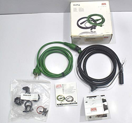 Defa 460785 Mini-Stecker Heizung Warm Up Grün Verbindungskabel 2,5 m