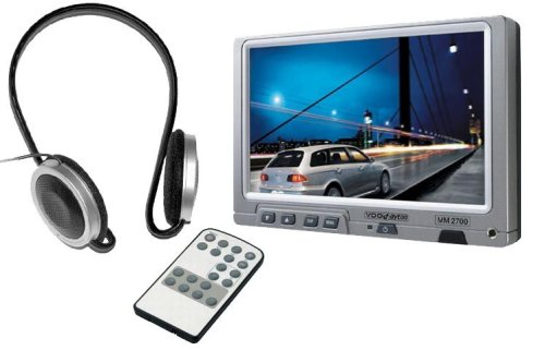 Vdo Dayton MM2700 17,8 cm (7 inch) TFT-LCD-monitor (480 x 234 pixels, 500 cd/m2) voor autoradio's