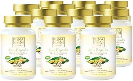 Puna Noni Naturals Cheap -100% Pure Capsule Powder Oakland Mall Hawaiian Fruit