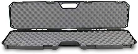 Condition 1 42 Single Scope Hard Plastic Rifle Case with Foam Gun Metal Gray product image
