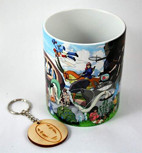 HobbyElx Taza y Llavero Studio Ghibli