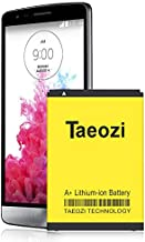 (Upgraded)LG G3 Battery, 3500mAh Replacement Li-ion Battery for LG G3 BL-53YH D852 D855 D852 At&T D850 T-Mobile D851 Verizon VS985 Spring LS990 G3 Spare Battery