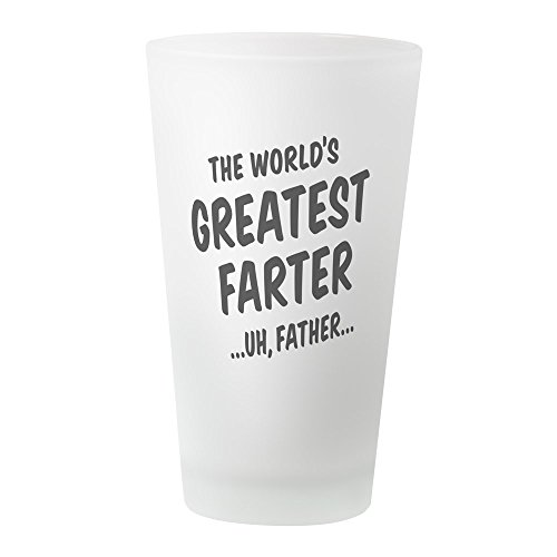 CafePress – Die Welt??? S Greatest FURZER – Pint-Glas, 16 oz Trinkglas frosted