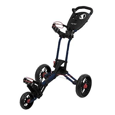 Bag Boy EZ-Walk Push Cart,Navy/Red