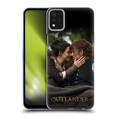Head Case Designs Licenza Ufficiale Outlander Claire Jamie Bacio Stagione 4 Arte Cover in Morbido Gel Compatibile con LG K42   K52   K62