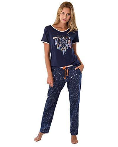 Massana - Pijama Plumas XL, MARINO