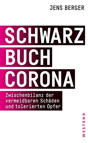 Buchseite und Rezensionen zu 'Schwarzbuch Corona' von Jens Berger